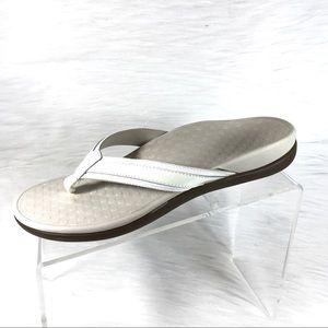 Vionic Orthaheel Tide II Sandals Beige Size 9